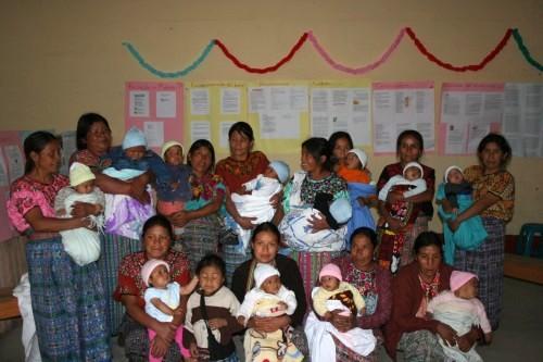 Alianza Canada-Comitancillo - Prenatal/Postnatal Program