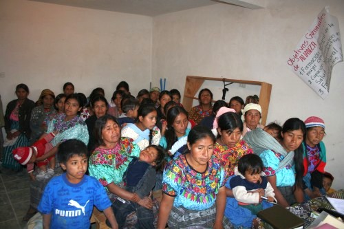 Alianza Canada-Comitancillo - Women's Health Group